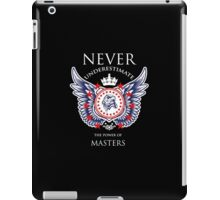 Never Underestimate The Power Of Masters - Tshirts & Accessories iPad Case/Skin
