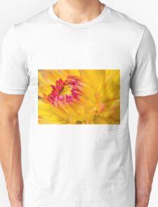 Yellow Dahlia Unisex T-Shirt