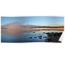 Fall At Crystal Lake - Mist Rising Poster