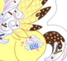 Angel Food Pegasus Pony Sticker