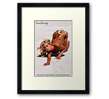 Submission to the Salty Master Framed Print