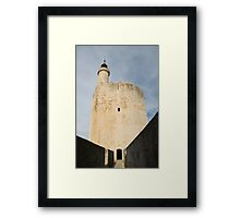 the Constance Tower, Aigues-Mortes Framed Print
