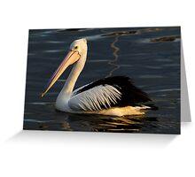 Pelican at Eden Greeting Card