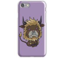 Blonde Feral Druid iPhone Case/Skin