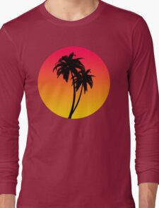MASTER OF THE MIAMI SUNSET Long Sleeve T-Shirt