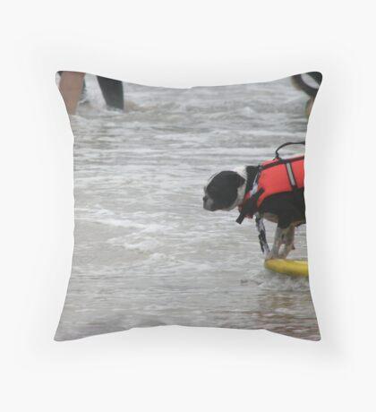 Hang 10 Throw Pillow