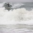 Huntington Beach Surfer2 by Karen Hight