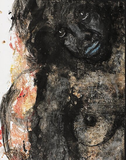 Face, Bernard Lacoque-49 by ArtLacoque