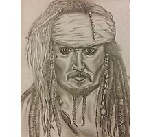 Captain Jack Sparrow Photographic Print