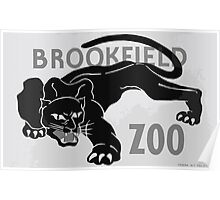 WPA United States Government Work Project Administration Poster 0432 Brookfield Zoo Panther Poster