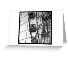 Manchester Eye reflection Greeting Card