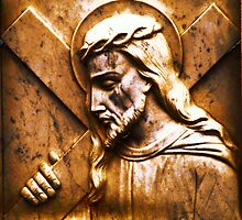 Jesus Was Obedient To His Heavenly Father by Marie Sharp