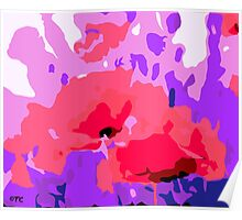 POPPY ABSTRACT Poster