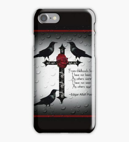 Gothic Cross Design iPhone Case/Skin