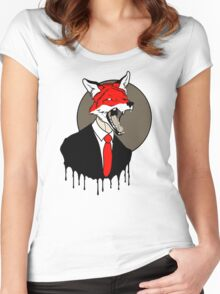 Sly Old Fox Women's Fitted Scoop T-Shirt