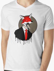 Sly Old Fox Mens V-Neck T-Shirt