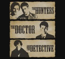 The Hunters, The Doctor and The Detective  by Shaun Beresford