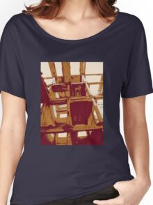 Industrial retro-poster II Women's Relaxed Fit T-Shirt