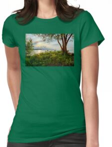 Late Afternoon Womens Fitted T-Shirt