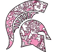 Alpha Phi Lilly Spartan Photographic Print