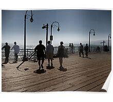 Redondo Beach Pier- A Californian Summer Poster