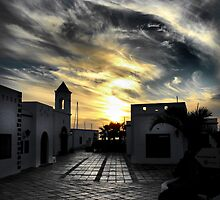 Lanzarote sunset by larry flewers