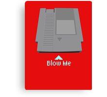 Just blow Me Nintendo 64 Game Canvas Print