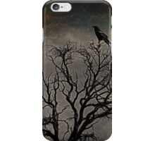 Black Bird Fly iPhone Case/Skin