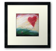 Keep hold or your love Framed Print