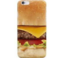AWESOME COOL HAMBURGER iPhone Case/Skin