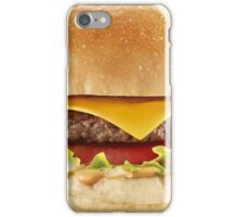 AWESOME COOL HAMBURGER iPhone Case/Skin