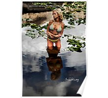 Lily pad Dreams Poster