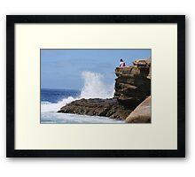 La Jolla Cliffs Framed Print