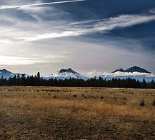 Three Sisters....outside of Sisters, Oregon by trueblvr