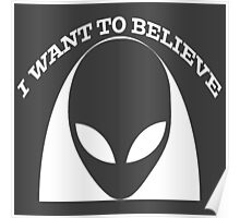 I want to Believe, Alien  Poster