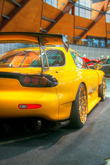 Mazda rx7 by TMphotography