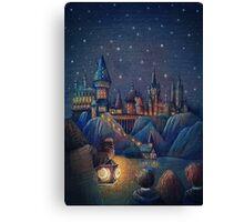 Hogwarts Fairytale Canvas Print