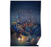 Hogwarts Fairytale Poster