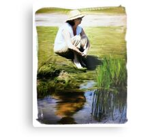 Painter Oil Metal Print