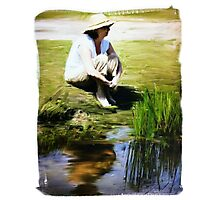 Painter Oil Photographic Print