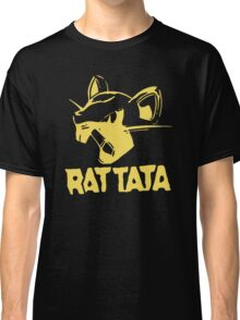 RAT TATA - RATATAT Music Band Mashup Classic T-Shirt