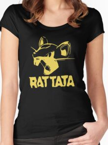 RAT TATA - RATATAT Music Band Mashup Women's Fitted Scoop T-Shirt
