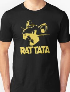 RAT TATA - RATATAT Music Band Mashup T-Shirt