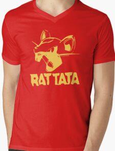 RAT TATA - RATATAT Music Band Mashup Mens V-Neck T-Shirt