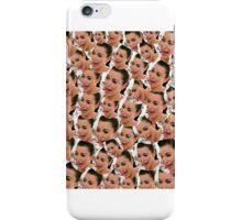 Kim kardashian crying face collage iPhone Case/Skin