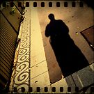 iPhone 4 Series - Footpath Shadow by David Amos
