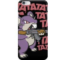 RATATATATATATATATAT FUNNY MOUSE RAT iPhone Case/Skin