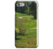 The long and winding path iPhone Case/Skin