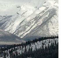 Snowy Winter Mountains by indigorayz