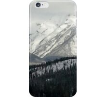 Snowy Winter Mountains iPhone Case/Skin